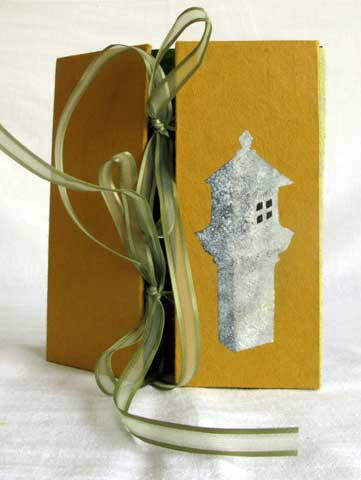 Bonzai garden Accordion Book